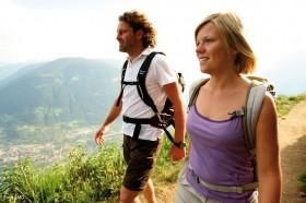 Wandern im Meraner Land mit herrlichem Panoramablick